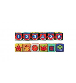 Cuburi Moi Puzzle, 6 Piese