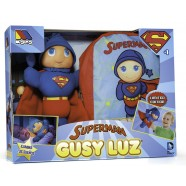 Papusa Gusy Luz Superman & Rucsac
