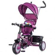 Tricicleta Cu Copertina Si Sezut Reversibil Chipolino Twister Purple 2015