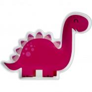 Farfurie Melamina Dinozaur Lulabi 9512300, Rosu