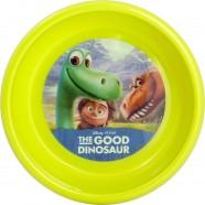 Farfurie Adanca Plastic Bunul Dinozaur Lulabi 8005902, Verde