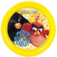 Farfurie Plastic Angry Birds Lulabi 8161001, Galben