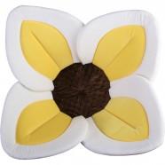 Cadita de plus si salteluta de joaca Lotus BloomingBath BB105L Alb/Galben/Maro