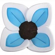 Cadita de plus si salteluta de joaca Lotus BloomingBath BB105L Alb/Albastru/Maro