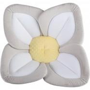 Cadita de plus si salteluta de joaca Lotus BloomingBath BB105L Gri/Alb/Galben