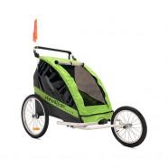 Carucior Remorca de bicicleta Deluxe WeeRide WR08 Verde