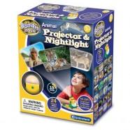 Lampa De Veghe Si Proiector Animale Brainstorm Toys E2053